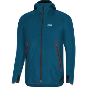 GORE WEAR H5 Gore-Tex Shakedry Hooded Jacket Herren pacific blue